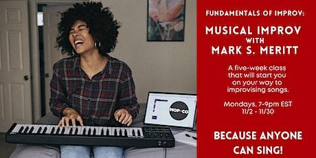 Mopco Improv Fundamentals: Musical Improv tickets