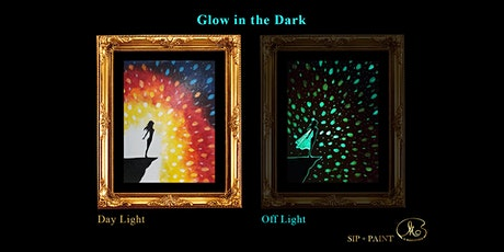 Sip and Paint (Glow in the Dark): Inner Power (2pm Saturday) tickets