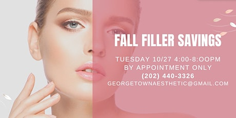Fall into Savings - Georgetown Aesthetic Open House tickets