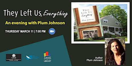 An Evening with Plum Johnson tickets