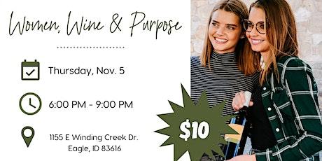 Women, Wine & Purpose tickets