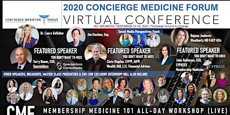 2020 Concierge Medicine FORUM | Virtual Conference tickets