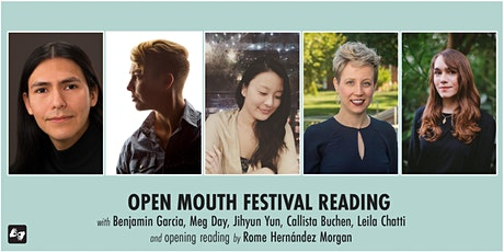 Open Mouth Poetry Festival - Reading on 10/31 tickets