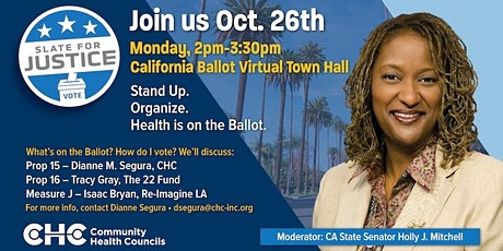 Slate4Justice Town Hall with Holly Mitchell tickets