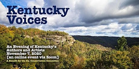 Kentucky Voices 2020: An Evening of Kentucky Authors and Artists tickets