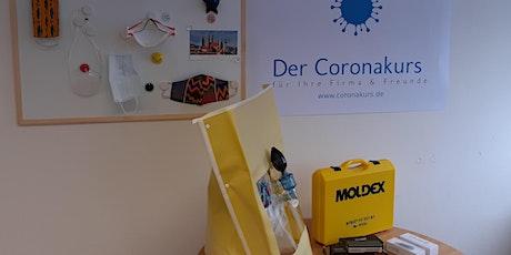 Der Coronakurs für Ihre Firma & Freunde - offener Präsenzworkshop in M Tickets