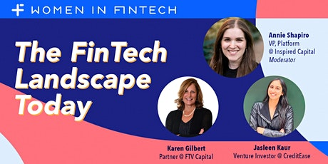 The FinTech Landscape Today: A VC's Perspective tickets
