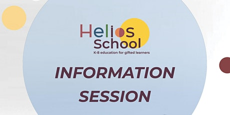 Helios Information Session: choose your date! tickets