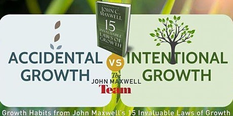 15 Invaluable Laws of Growth Mastermind 3-week Intro (Mon 11/2-11/16/20) tickets