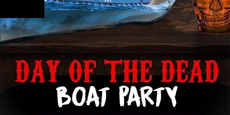 DAY OF THE DEAD HALLOWEEN NYC LATIN & HIP HOP  BOAT PARTY CRUISE  VIEWS
