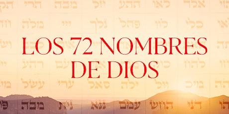 Los 72 Nombres de Dios | 21.Oct.20 | 7.30PM entradas