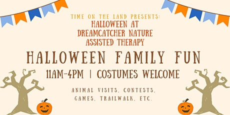Time on the Land Presents Halloween Family Fun 11:00 AM to 4:00 PM tickets