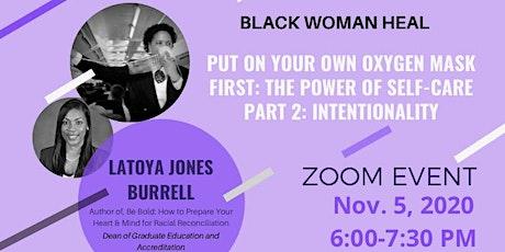 Black Women Heal-A Virtual Check-in (registration in description) tickets