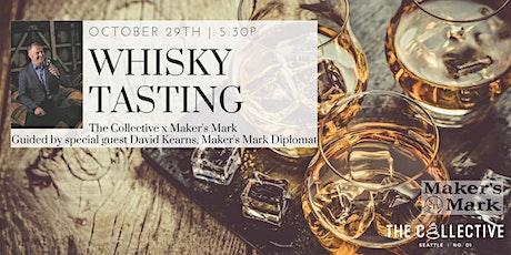 Maker's Mark Whisky Tasting + Dinner tickets