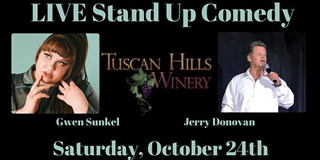 LIVE Stand Up Comedy at Tuscan Hills Winery tickets