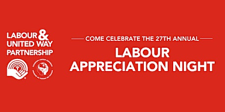 Labour Appreciation Night - Virtual Event tickets