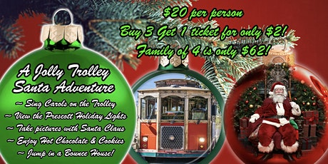 A Jolly Trolley Santa Adventure tickets