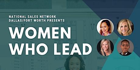 NSN DFW Women Who Lead Webinar tickets