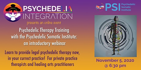 Psychedelic Therapy Training with PSI: An Introductory Webinar tickets