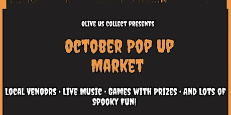 Olive Us Collect presents October Pop Up Market tickets