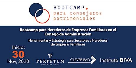 Bootcamp para Herederos de Empresas Familiares en el Consejo entradas