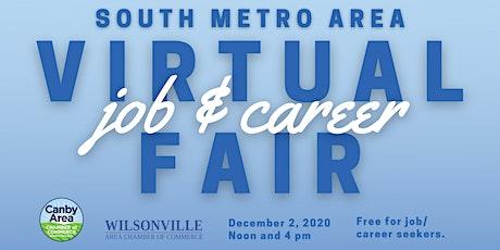 South Metro Area Virtual Job/Career Fair tickets