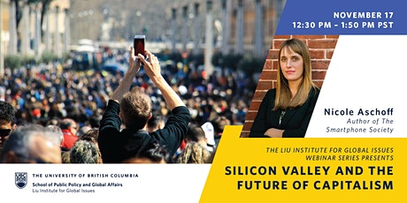 Silicon Valley and the Future of Capitalism tickets