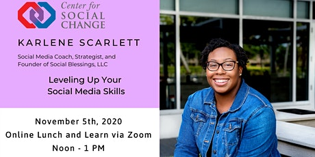 Leveling Up Your Social Media Skills tickets