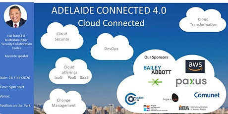 Adelaide Connected 4.0 - Cloud & Security tickets