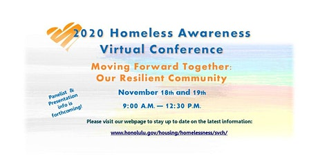 2020 Statewide Homelessness Awareness Virtual Conference tickets