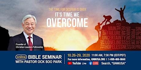 Bible Seminar tickets