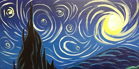 """Painting & Brews - """"Let's Gogh"""" tickets"""