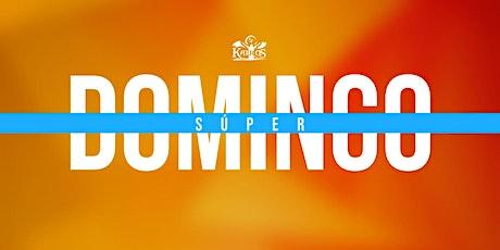 Servicio de Súper Domingo   25 de octubre de 2020. tickets