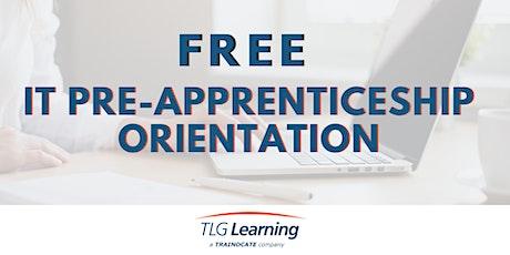 IT Pre-Apprenticeship Orientation tickets
