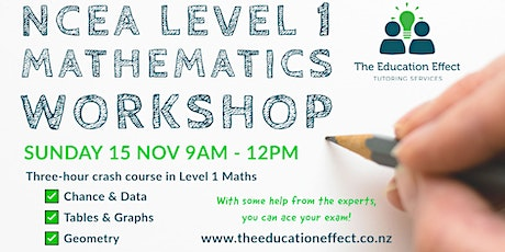 NCEA Level 1 Maths Workshop tickets