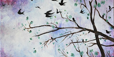 "Painting & Vino - ""Flying Birds"" tickets"