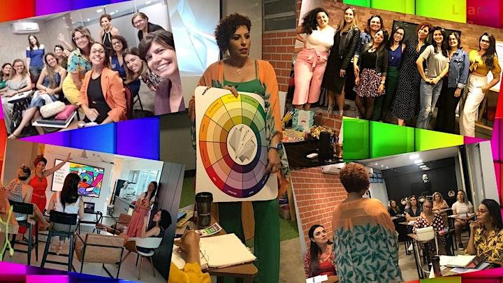 Imagem do evento Suas Cores - Workshop de Coloração Pessoal On Line