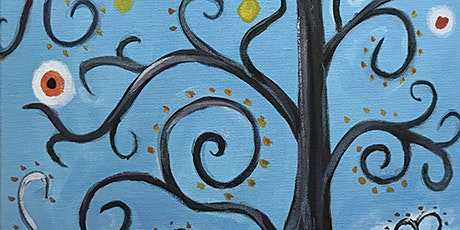 "Painting & Vino - ""Tree of Happiness"" tickets"