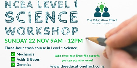 NCEA Level 1 Science Workshop tickets