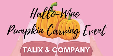 Hallo-Wine Pumpkin Carving Event tickets