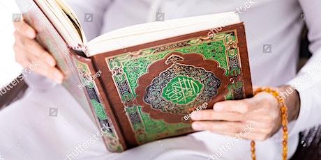 MEN Quran Recitation/ Tajweed Classes tickets