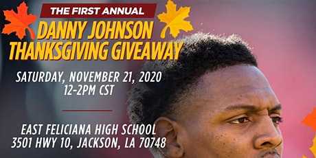 Danny Johnson Thanksgiving Giveaway tickets