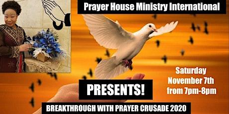 Breakthrough With Prayer tickets