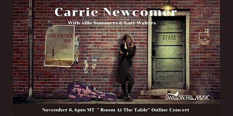Carrie Newcomer: Room At The Table Livestream tickets