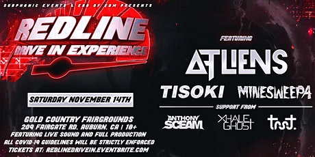 Red Line Drive In Experience Ft. ATLiens, Tisoki, & Minesweepa tickets