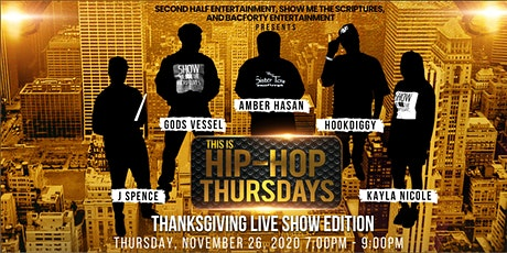 This Is Hip-Hop Thursdays Live Thanksgiving Show billets