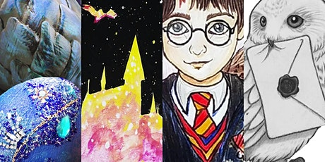 4 Weeks Harry Potter Virtual Art Lesson Club  @3PM (Ages 6+) tickets
