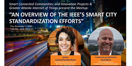 AN OVERVIEW OF THE IEEE'S SMART CITY STANDARDIZATION EFFORTS tickets