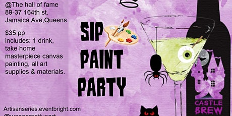 S.P.P (Sip Paint and Party) Friday's tickets