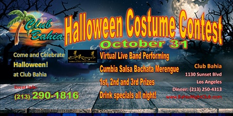 Club Bahia Halloween Costume Contest tickets
